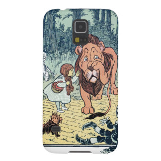 Vintage Wizard of Oz Characters, Yellow Brick Road Galaxy S5 Case