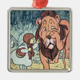 Vintage Wizard of Oz Characters, Yellow Brick Road Ornaments
