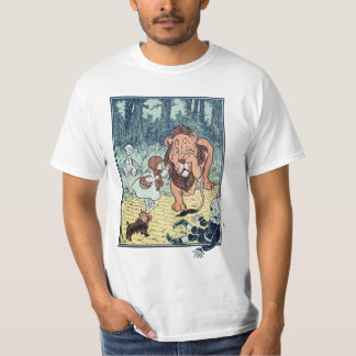Vintage Wizard of Oz Characters, Yellow Brick Road T-Shirt