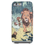 Vintage Wizard of Oz Characters, Yellow Brick Road Tough iPhone 6 Case