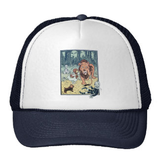 Vintage Wizard of Oz Characters, Yellow Brick Road Trucker Hat