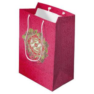 vintage wizard of oz christmas gift bag red medium gift bag