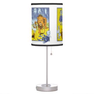 Vintage Wizard of Oz Collage Desk Lamp