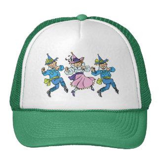 Vintage Wizard of Oz, Cute Dancing Munchkins! Trucker Hat