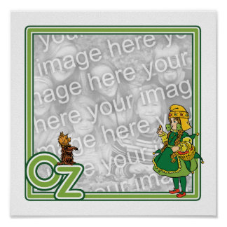Vintage Wizard of Oz; Dorothy and Toto Border Posters