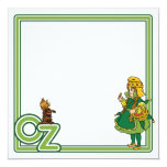 Vintage Wizard of Oz; Dorothy and Toto Custom Invite