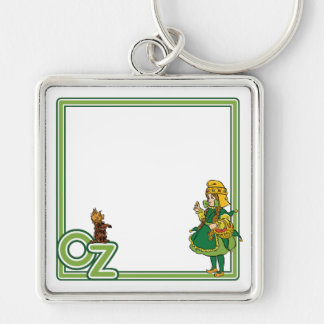 Vintage Wizard of Oz; Dorothy and Toto Keychains