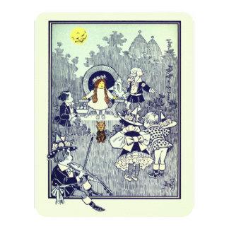Vintage Wizard of Oz Dorothy Birthday Party Card
