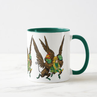 Vintage Wizard of Oz, Dorothy, Evil Flying Monkeys Mug