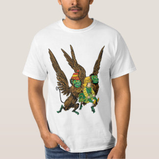 Vintage Wizard of Oz, Dorothy, Evil Flying Monkeys T-Shirt