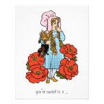 Vintage Wizard of Oz, Dorothy, Girl Baby Shower Custom Invite