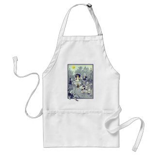 Vintage Wizard of Oz, Dorothy Meets the Munchkins Adult Apron