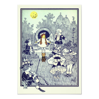 Vintage Wizard of Oz, Dorothy Meets the Munchkins Card