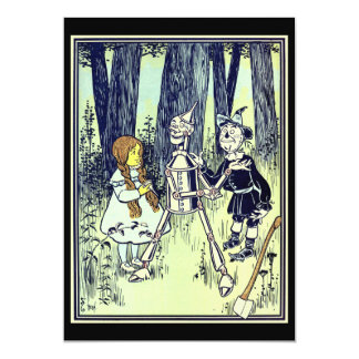 Vintage Wizard of Oz, Dorothy Meets the Tinman Card