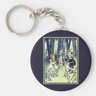 Vintage Wizard of Oz, Dorothy Meets the Tinman Keychain