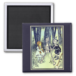 Vintage Wizard of Oz, Dorothy Meets the Tinman Magnet