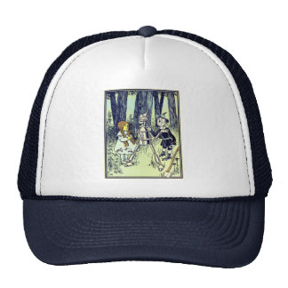 Vintage Wizard of Oz, Dorothy Meets the Tinman Trucker Hat