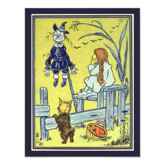 Vintage Wizard of Oz, Dorothy Toto Birthday Party Card