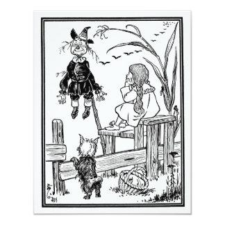 Vintage Wizard of Oz; Dorothy Toto Meet Scarecrow Announcement