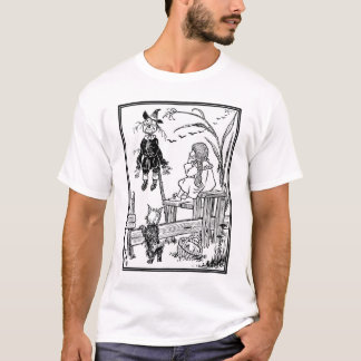 Vintage Wizard of Oz, Dorothy Toto Meet Scarecrow T-Shirt