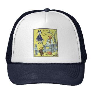 Vintage Wizard of Oz, Dorothy Toto Meet Scarecrow Trucker Hat