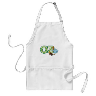 Vintage Wizard of Oz Dorothy Toto with BIG Letters Adult Apron