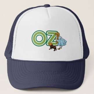 Vintage Wizard of Oz Dorothy Toto with BIG Letters Trucker Hat