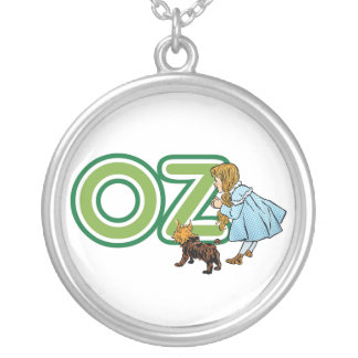 Vintage Wizard of Oz, Dorothy Toto with Letters OZ Pendant