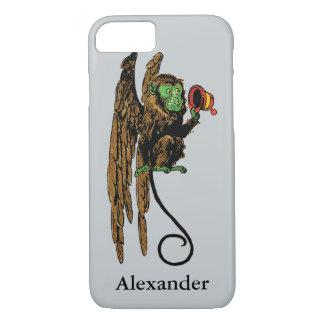 Vintage Wizard of Oz, Evil Flying Monkey Hat iPhone 8/7 Case