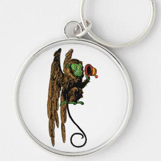 Vintage Wizard of Oz, Evil Flying Monkey Hat Keychain