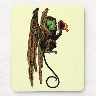 Vintage Wizard of Oz, Evil Flying Monkey Hat Mouse Pad
