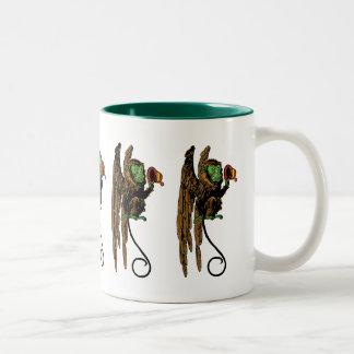Vintage Wizard of Oz; Evil Flying Monkey Hat Mugs