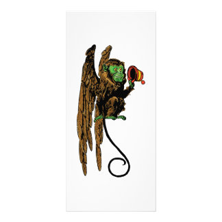 Vintage Wizard of Oz, Evil Flying Monkey Hat Rack Card