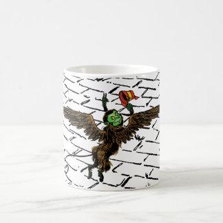 Vintage Wizard of Oz, Evil Flying Monkey Classic White Coffee Mug