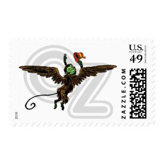 Vintage Wizard of Oz, Evil Flying Monkey Stamps