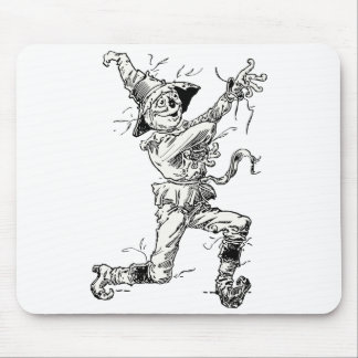 Vintage Wizard of Oz Fairy Tales, the Scarecrow Mouse Pad