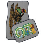 Vintage Wizard of Oz Fantasy Fairy Tale Characters Car Mat