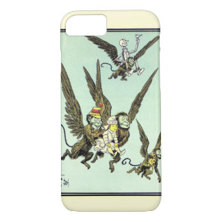 Vintage Wizard of Oz, Flying Monkeys with Dorothy iPhone 8/7 Case