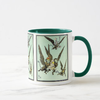 Vintage Wizard of Oz, Flying Monkeys with Dorothy Mug