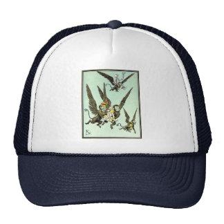 Vintage Wizard of Oz, Flying Monkeys with Dorothy Trucker Hat