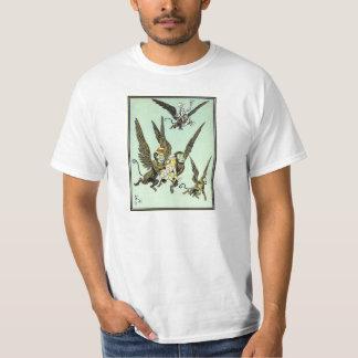 Vintage Wizard of Oz, Flying Monkeys with Dorothy Tshirts