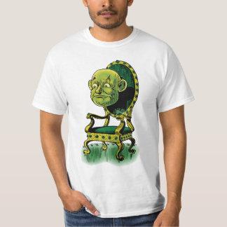 Vintage Wizard of Oz, Grumpy Wizard Emerald Throne Tee Shirt