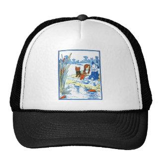 Vintage Wizard of Oz Illustration - Pond Trucker Hat