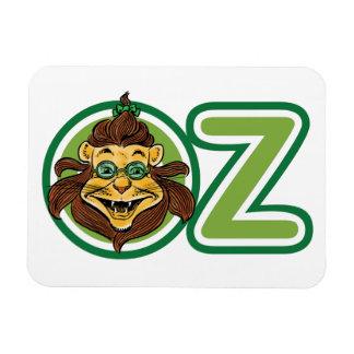Vintage Wizard of Oz, Lion in the Letter O Magnet