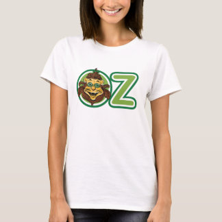 Vintage Wizard of Oz, Lion in the Letter O T-Shirt