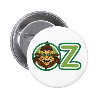 Vintage Wizard of Oz, Lion Inside Letter O Pin