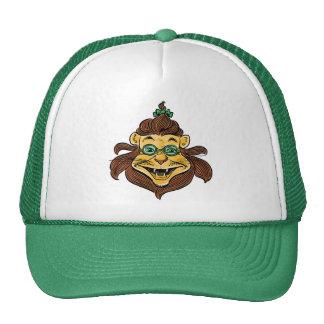 Vintage Wizard of Oz, Lion Wearing Green Glasses Trucker Hat