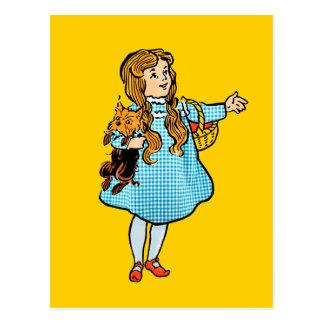 Vintage Wizard of Oz Postcard