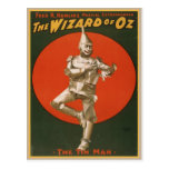 Vintage Wizard Of Oz Poster Postcard