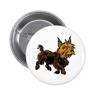 Vintage Wizard of Oz, Toto the Cute Puppy Dog 2 Inch Round Button